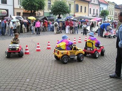 Atrakcia Autíčka / Motorky