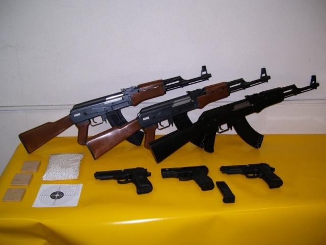 Airsoft zbrane