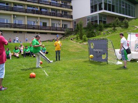 Atrakcia Futbalová bránka