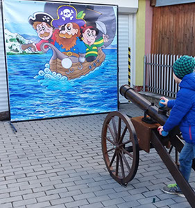 Bannery zábavné – Piráti