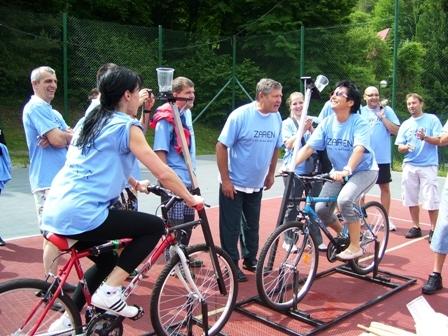 Atrakcia Zábavne bicykle