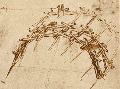 Atrakcia Da Vinciho most