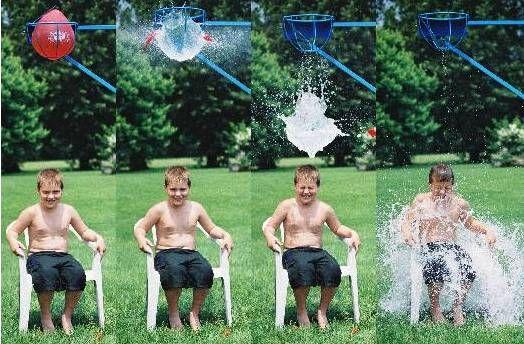 Atrakcia Vodný šplech