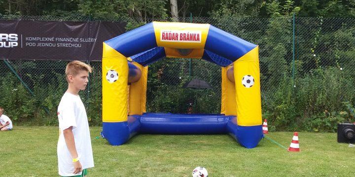 Futbalová radar brána